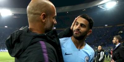 Riyad Mahrez  et Pep Guardiola  vraiment  complices ?