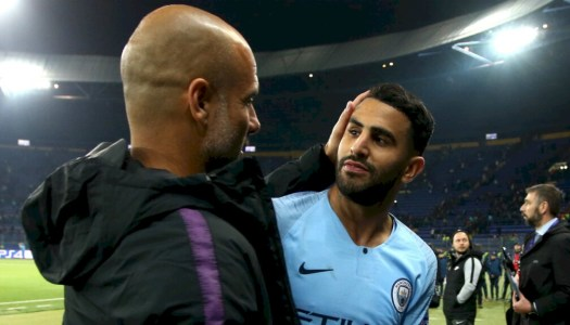 Citizens : Guardiola aime Mahrez « qui aime le foot »