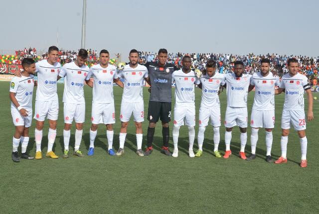 Me Wydad Casablanca n'a pa tremble à Nouakchott ( photo facebook.ffrim)