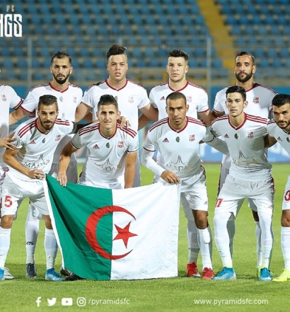 CR Belouizdad (photo facebook Pyramids FC)