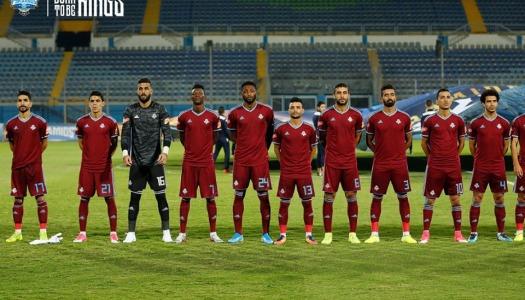 Egypte (PL) : entrée en fanfare  du  Pyramids FC