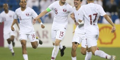 Qatar U23 lors d leur victoire contre le Népal (5-0), photo qua.qa