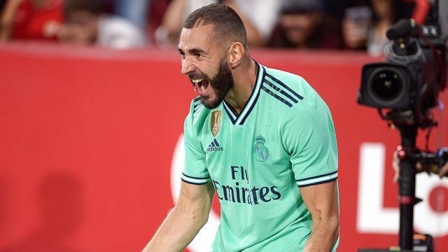 Karime Benzema, 5 buts en six matches l'atout sécurité offensive du Real de Zidane
