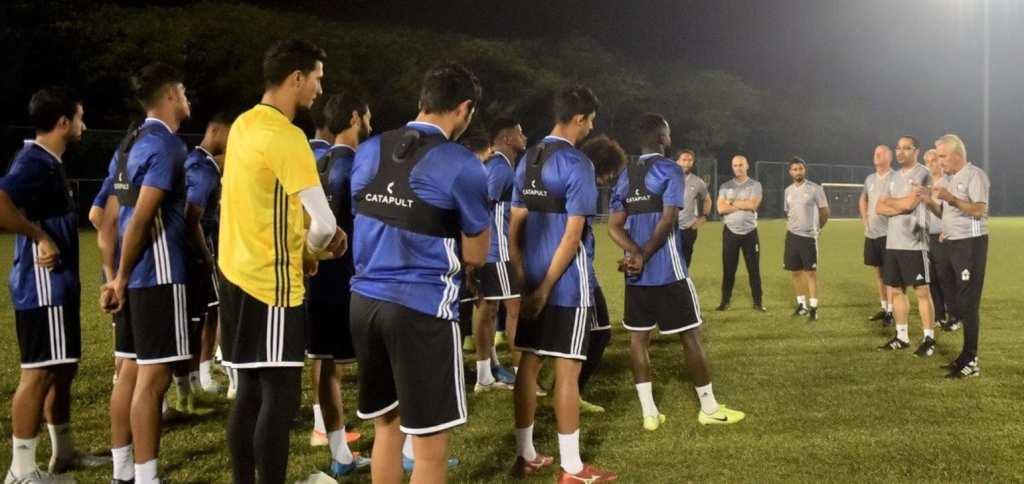 Bert van Marwijk  aimerait bien qualifier les Emirats au Mondial 2022 et refaire l'exploit réalisé avec l'Arabie Saoduite en 2018 ( photo afc.com )