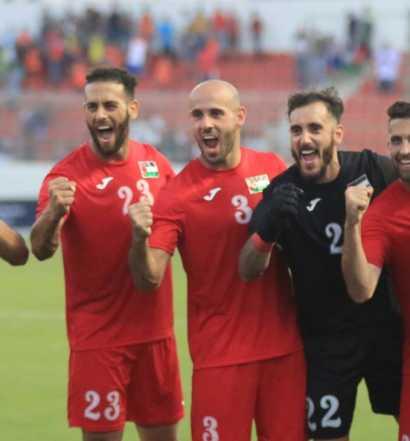 Mondial 2022: La Palestine victorieuse de l'Ouzbékistan  (photo afc.com)