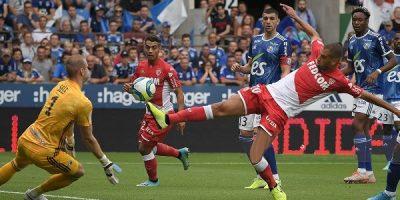 Double passeur décisive contre l'AS Monaco (2-2)