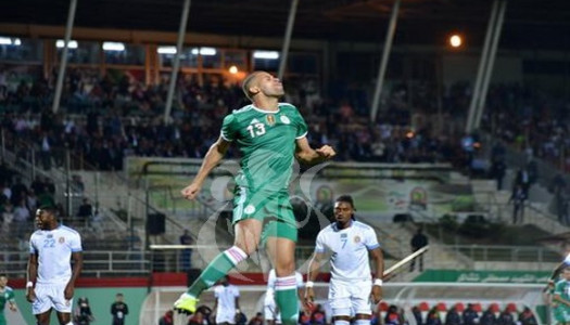 Amical : la RD Congo accroche l' Algérie (1-1)