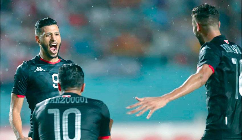 La Tunisie victorieuse de la Libye, 1-0_à, 2-1)