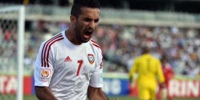 Ali Mabkhout, meilleur buteur de l'histoire de la sélection (photo afc.com)