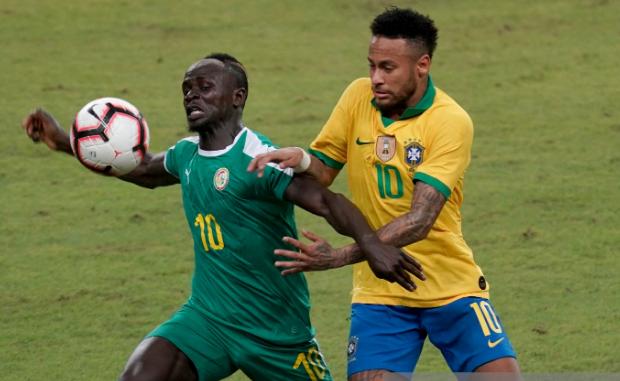 Brésil - Sné,agal (1-1)