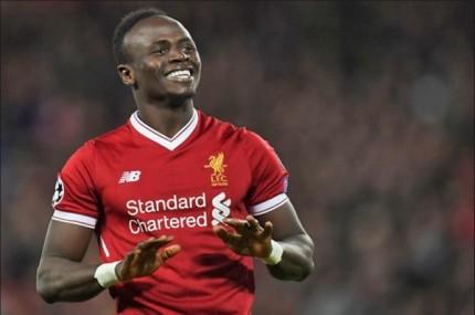 Le Sénégalais de Liverpool , Sadio Mané, auteur d'une grosse saison aurait pu faire partie des favoris...