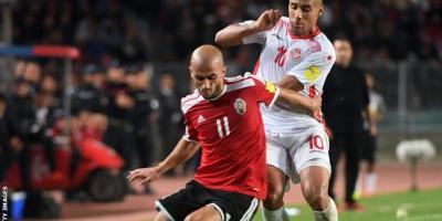 Ahmad Benali, le joueur de Crotone  un des aouts atouts maîtres de la Libye  (cici contre la Tunisie)