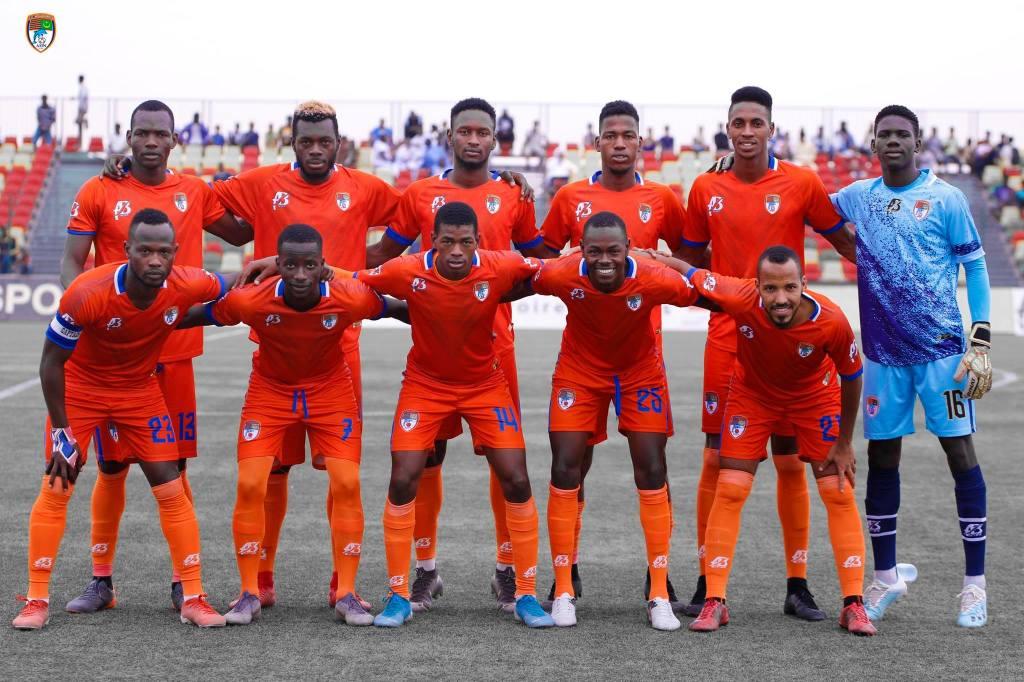 FC Noudhibou  Grande première pour un club mauritanien en phase de groupes d'une compétition continentale ( photo page Facebook ffrim)