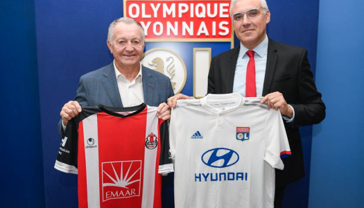 FUS Rabat : Partenariat conclu avec Lyon