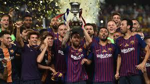 le FC Barcelone vainqueur de la Supercoupe d'Espagne 2010