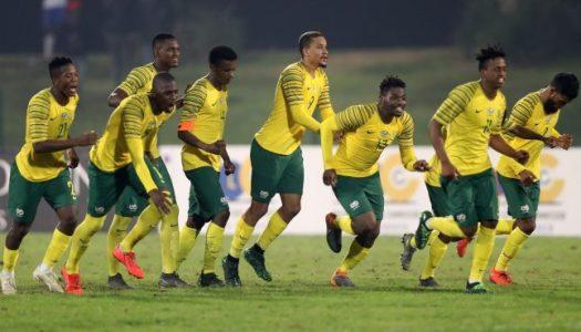 Bafana U23 : Imiter leurs aînés face aux Pharaons