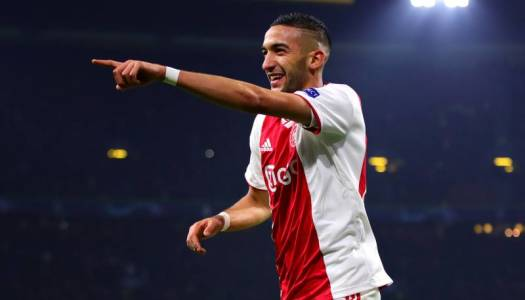weekend Story (126):  Hakim Ziyech, l'infatigable passeur