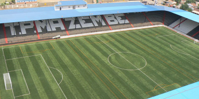 L'actuel stade, propreté du TP Mazembe , a une capacité de 22 000 places ( photo TPM)