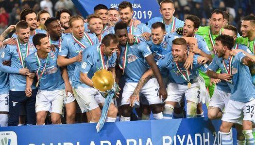 Super-Coupe d'Italie : La Lazio domine la Juve  Riyad