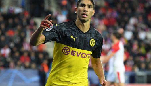 Real-Dortmund : Future bataille autour de Hakimi ?