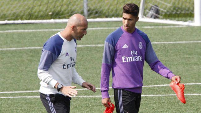 Zidane tient beaucoup de Hakimi qu'il a lancé chez les Merengue