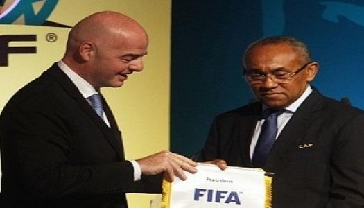 FIFA: Infantino pour une CAN tous  les quatre ans
