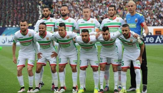 MC Alger : Passer l'obstacle Forces Aériennes