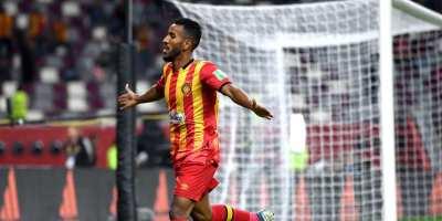 Le triplé d'El Houni a fait du bien à l'ES Tunis ( photo Fifa.com )