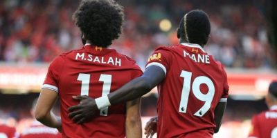 Le duo Mohamed Salah  - Sadio  Mané