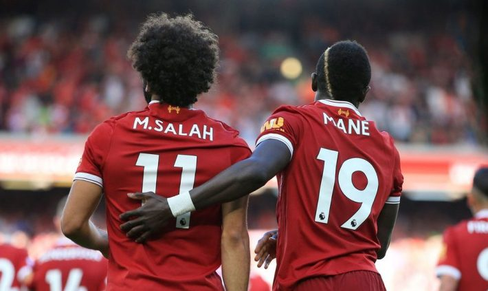 Le duo Mohamed Salah  - Sadio  Mané