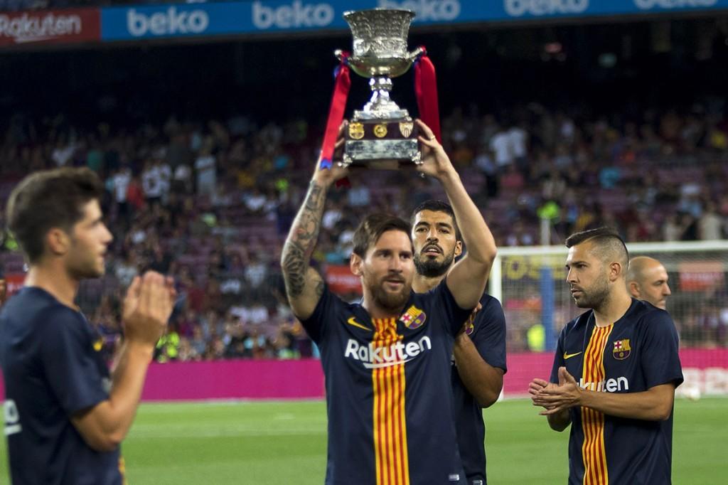 Le FC Barcelone détenteur de la Super Coupe 2018