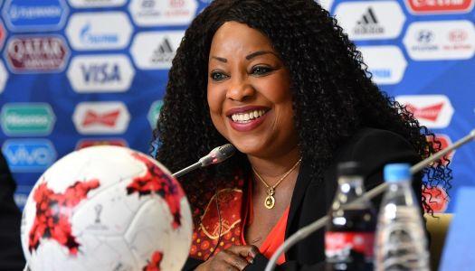CAF : Samoura satisfaite de son audit FIFA
