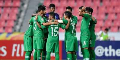 Arabie Saoudite : les Faucons Verts vice-champions d'Asie  U23 ( photo afc.com)