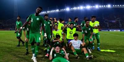 Les Faucons Verts en Joe après leur qualification au dépens dus pays hôte, la Thaïlande (1-0). Photo afc.com