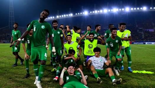 AFC U23 : L'Arabie Saoudite en demi-finale