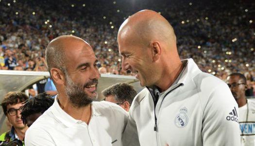 Citizens : Pep Guardiola kiffe Zidane