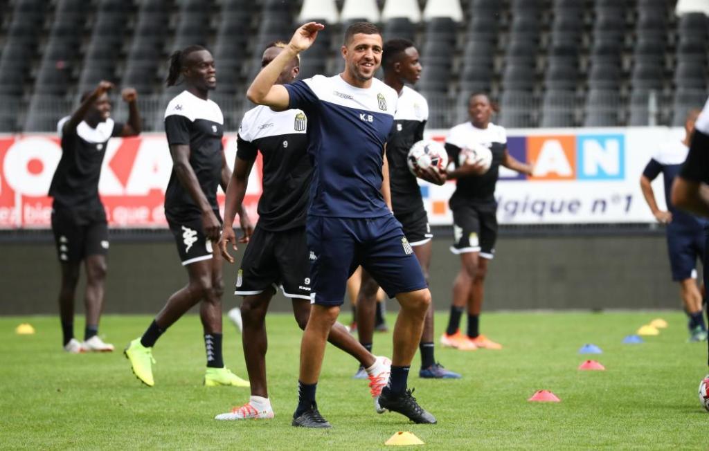 Karim Belhocine, la réussite  à Charleroi  d'uh meneur d'hommes  ( photo page Facebook Belhocine )