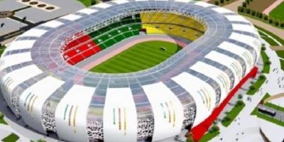 Stade d'Olembe                          ( Cameroun )