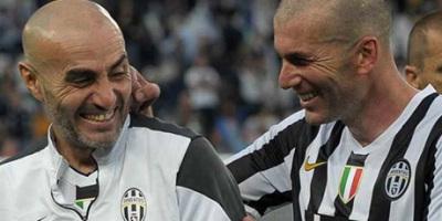 Monero et Zidane du temps d la Juventus