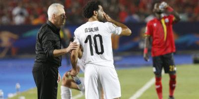 Mohamed Salah - Javier Aguirre