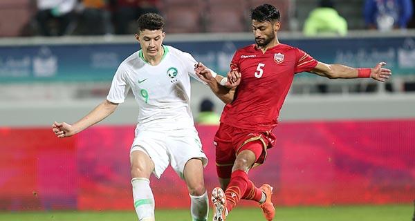 Al-Hamdan face à Bahrein en Coupe des Nations du Golfe arabe en décembre 2019