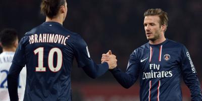Ibrahimovic - Beckham, deux légendes passées par le Paris SG