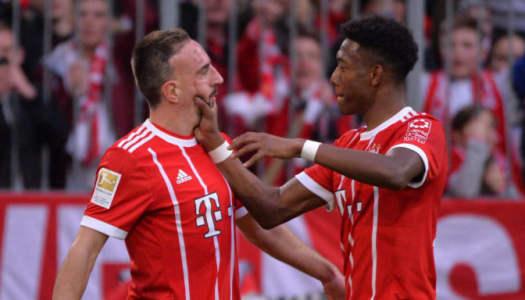 Franck Ribery, ce «grand frère» de David Alaba