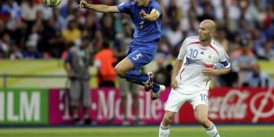 Fabio Cannavaro - Zinedine Zidane lors de la finale du Mondial 2006
