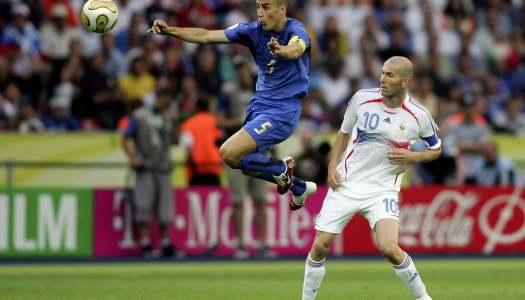Cannavaro évoque «le magicien» Zidane