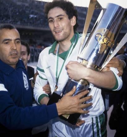 Chérif Oudjani champion d'Afrique 1990