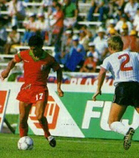A. Khiari face à l'Angletere (0-0)