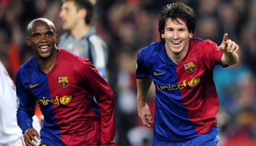 Eto'o catégorique: «Messi est le meilleur «of all time »