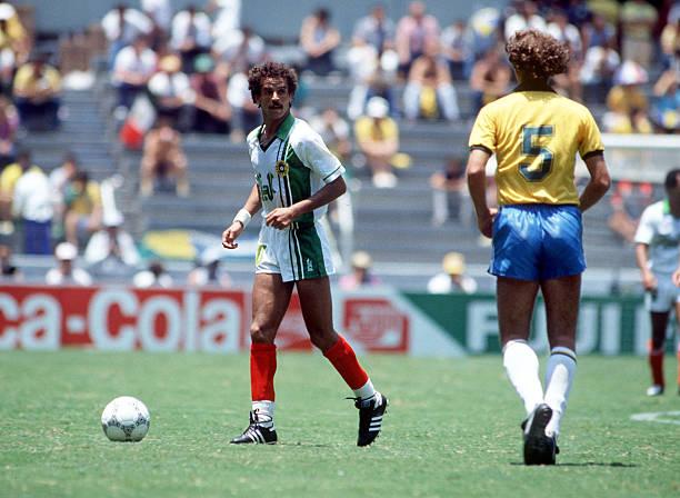 Belloumi étincelant contre le Brésil de Zico en 1986