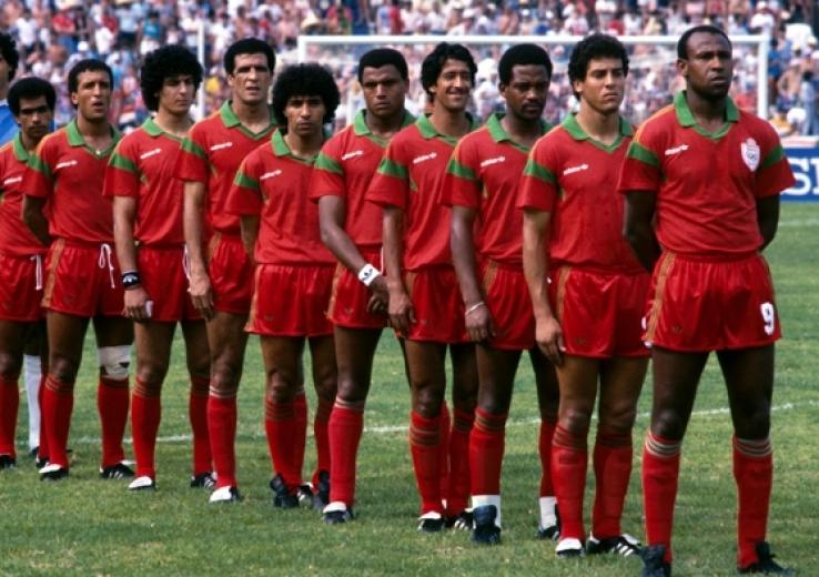 Lions de l'Atlas, Mondial 1986